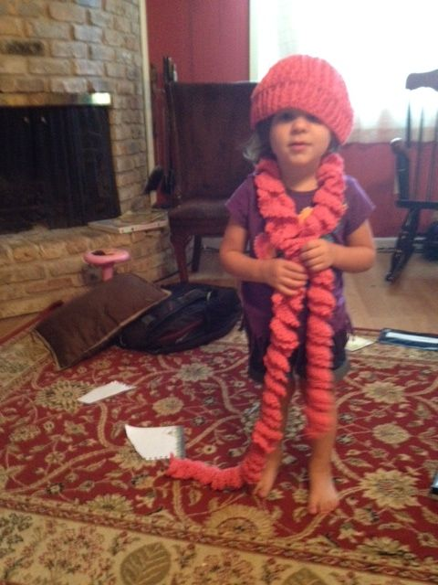 Madeline Hat and Scarf dress up