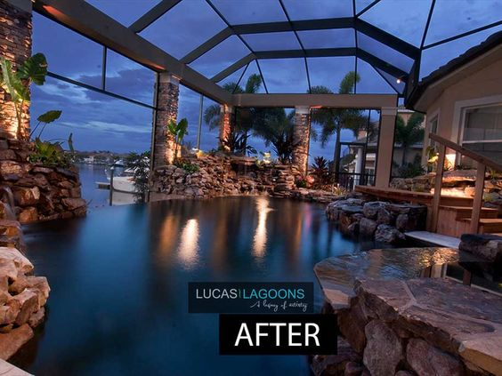 Portfolio Lucas Lagoons Pools Lagoon Pool Pool Remodel Swimming Pools