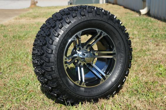 "12""x7"" TERMINATOR WHEELS and 23""x10.5""-12"" ALL TERRAIN TIRES (SET OF 4)"