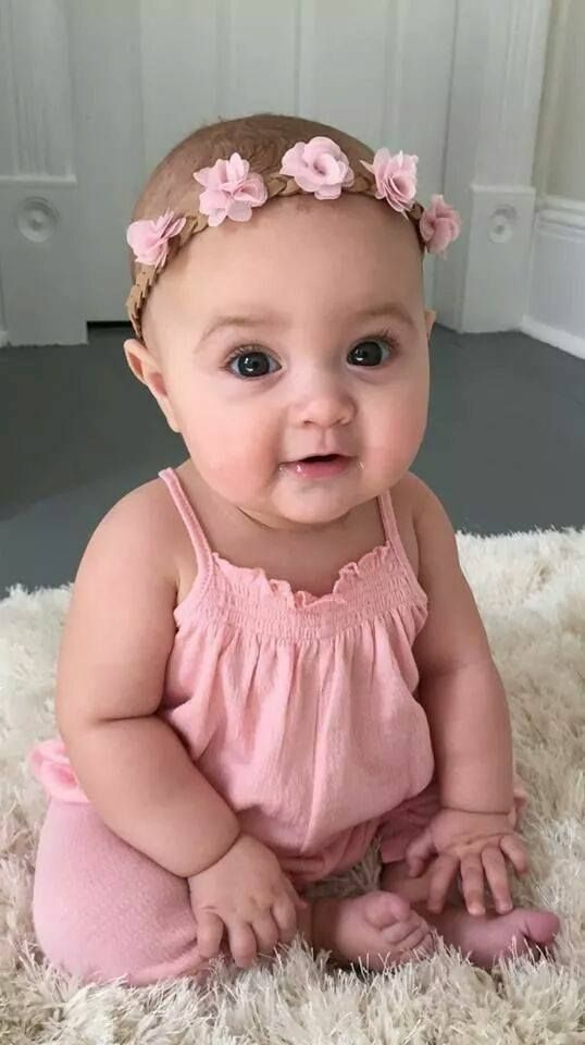 Pin By Jori Rubink On Baby Cute Baby Girl Cute Kids Baby Flower Headbands