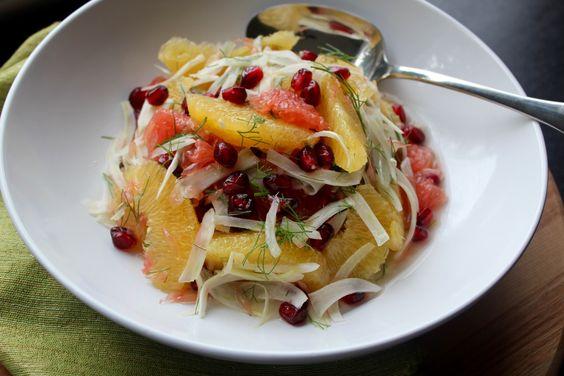 Citrus, Fennel & Pomegranate Salad — Wisdom Kitchen - Atlanta Personal Chef & Dietitian