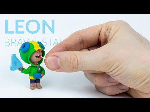 Leon Brawl Stars Polymer Clay Tutorial Youtube Polymer Clay Tutorial Clay Tutorials Polymer Clay