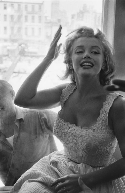 Marilyn expresses herself