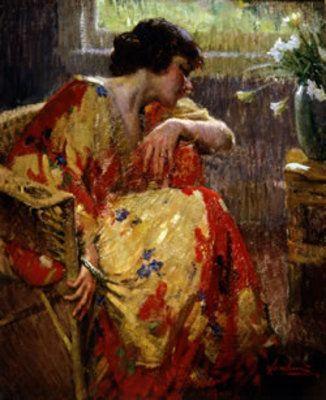 Matteo Sandona--In Her Kimono