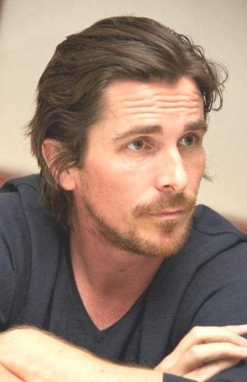 Christian Bale Hairstyle Products Thin Hair Men Christian Bale Long Hair Mens Slicked Back Hairstyles