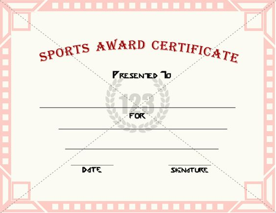 Sports certificates templates free download idealstalist sports certificates templates free download yelopaper Images