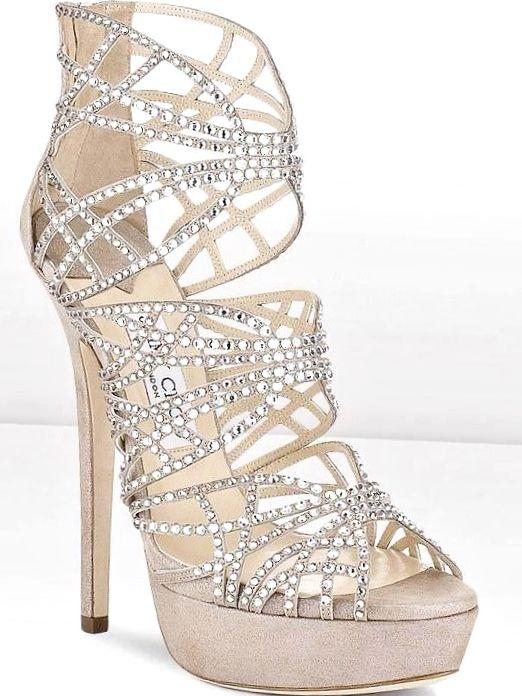 Jimmy Choo strappy high #heels ToniK #Wedding #Hairstyles ♥❸ ...