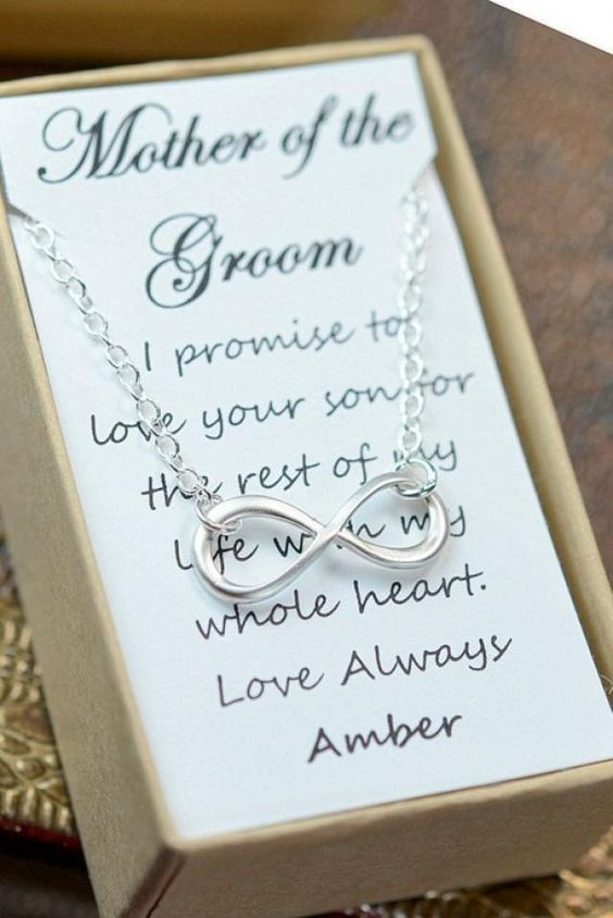 Mother of the groom gift , mother in law gift,Bridesmaid gifts ,wedding jewelry,Infinity Bracelet card,Best friends ,friendship to infinity