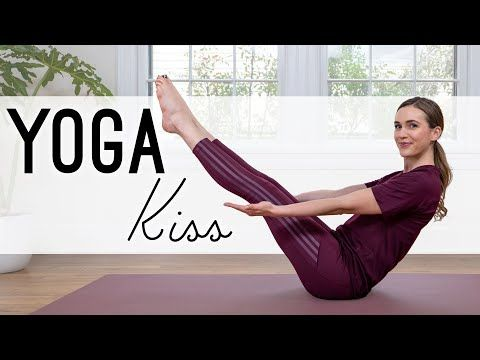 Want To Tend To Your Body And Mind Today Check Out This Yoga Kiss Video From Yoga With Adriene Youtuber And Yog In 2020 Yoga With Adriene Free Yoga Videos Yoga Flow