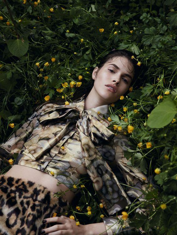 Vanessa Moody | Vogue China Agosto 2016 | Editoriais - Revistas de Moda