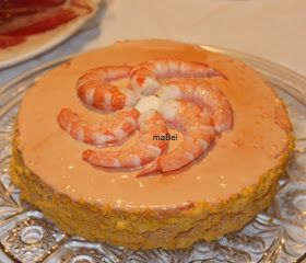 Pasteles de colores: Torta de langostinos (como la del Corte Ingles)