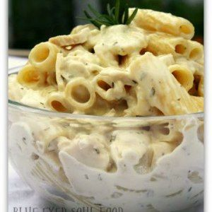 Rosemary Chicken & Goat Cheese Pasta | Blue Eyed Soul Food