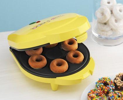 Pumpkin Donuts that you can bake in a mini donut maker!