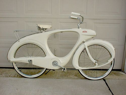 1960 Bowden Spacelander bicycle. @Ana Reinert
