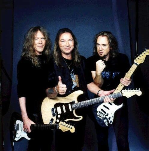 Janick Gers, Dave Murray and Adrian Smith, Iron Maiden