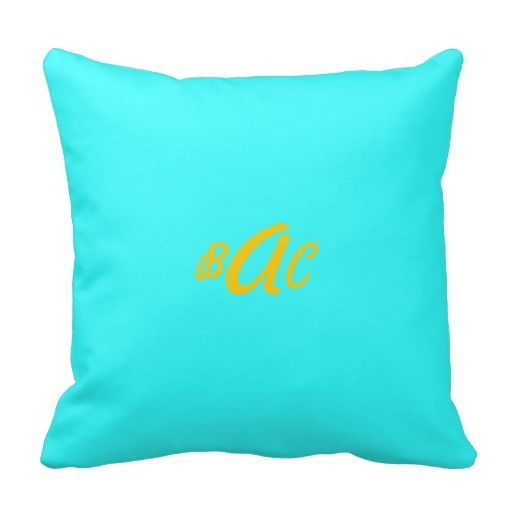 Monogram Pillow This item can be customized.