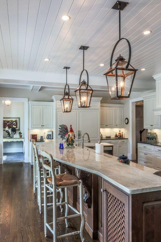 30 Best Kitchen Or Bathroom Lighting Designs Ideas For 2020 Country Kitchen Lighting Country Kitchen Designs French Country Kitchen