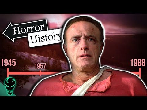 Misery The History Of Paul Sheldon Horror History Youtube Sheldon History Youtube Horror