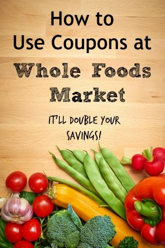 How to Use Coupons When Shopping at Whole Foods Market: This money saving tip will help you shop on a budget.