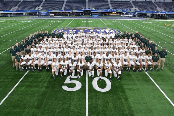 Spartans at the 2015 Cotton Bowl