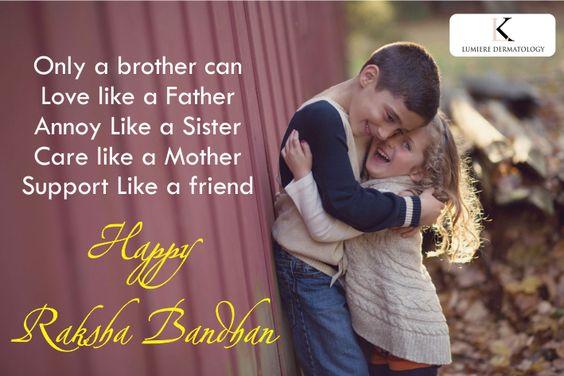 Wish you a Very Happy Raksha Bandhan!!!