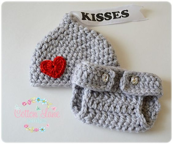 Crochet Baby Hershey Kiss Hat Pattern : Crochet outfits, Diaper covers and Hersheys kisses on ...