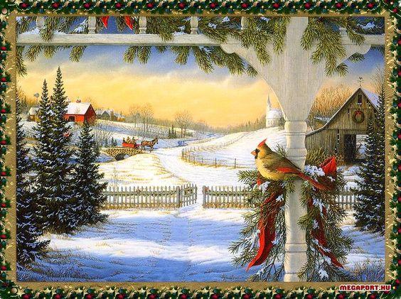 Beautiful christmas scenes, Christmas scenes and Scene on ...