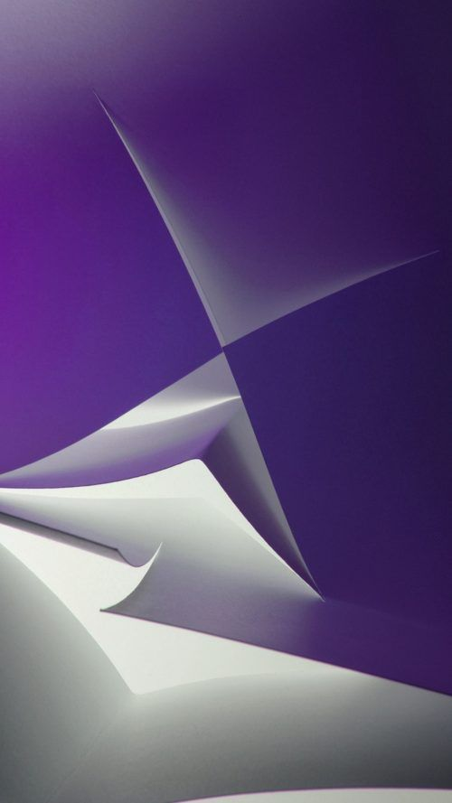 Samsung Galaxy C7 Wallpaper With Abstract Purple And Silver