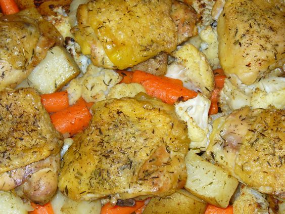 ... Yukon Gold Potatoes | Recipe | Yukon Gold Potatoes, Chicken Thighs and