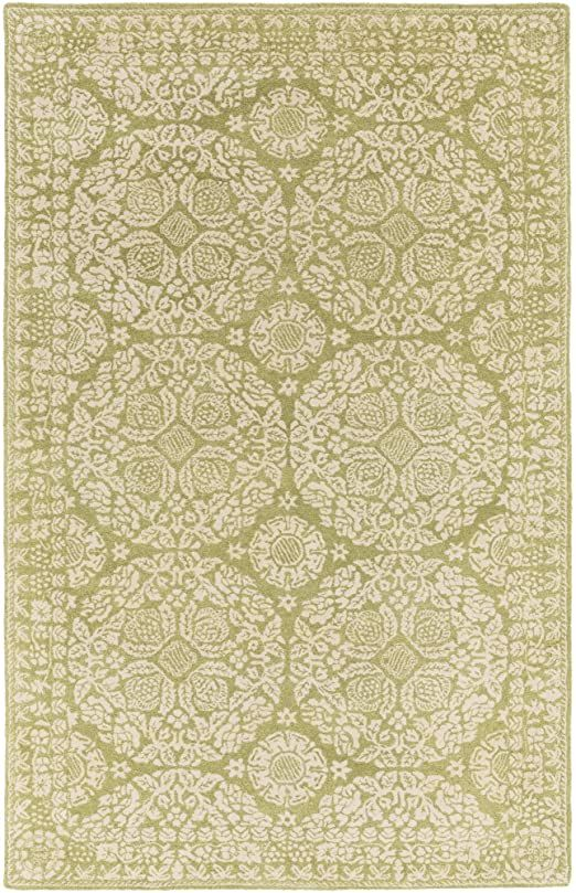 Surya Smithsonian 5 X 8 Area Rug Olive In 2020 Area Rug Collections Area Rugs Hand Tufted Rugs