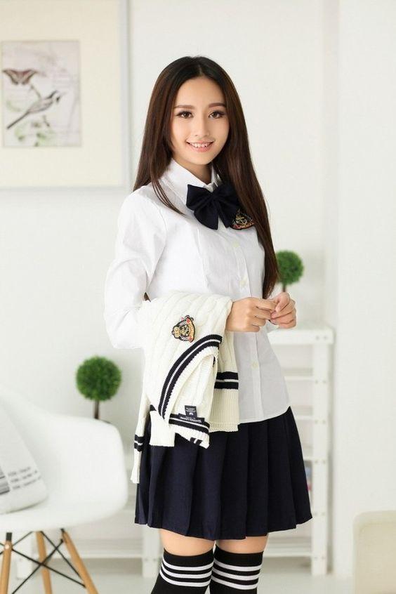 Womens school girl halloween costumes-7675
