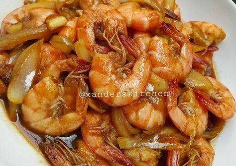 Resep Udang Saus Inggris Oleh Xander S Kitchen Resep Resep Masakan Malaysia Resep Masakan Indonesia Makanan Dan Minuman