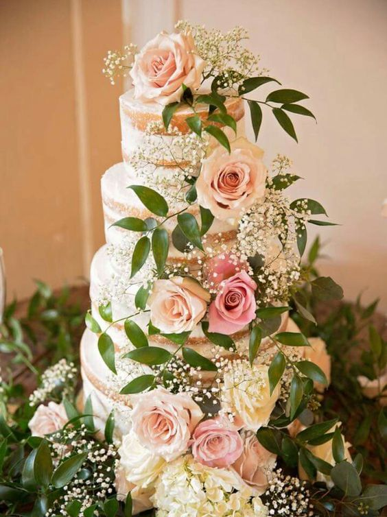 Naked cake. Cakes by Michelle