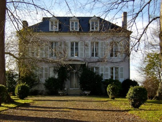 Beautiful french country house and house on pinterest for French manor house
