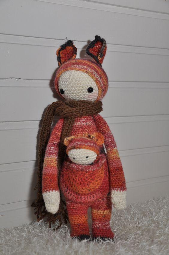 KIRA the kangaroo made by Marjan v.d.L.