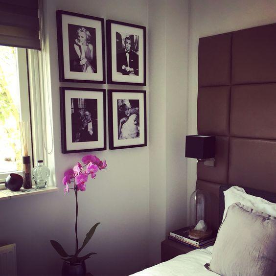 Interieur inspiratie slaapkamer decoratie bedroom orgidee