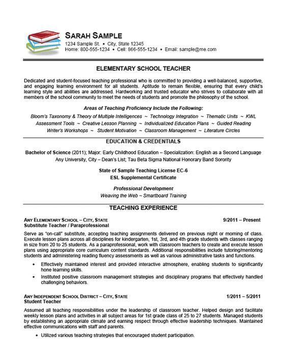 Resume Format For Preschool Teachers   Sample Customer Service Resume Resume Companion