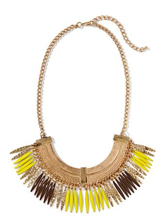 Eva Mendes Collection - Molly Fringe Necklace - New York & Company