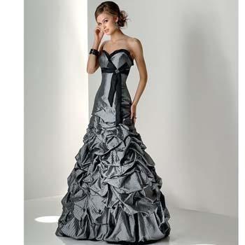 Elegantes vestidos largos de noche color plata 2012  http://vestidoparafiesta.com/elegantes-vestidos-largos-de-noche-color-plata-2012/