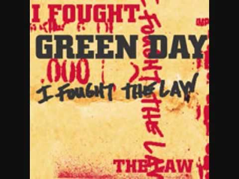 Green Day I Fought The Law Green Day Day Fight