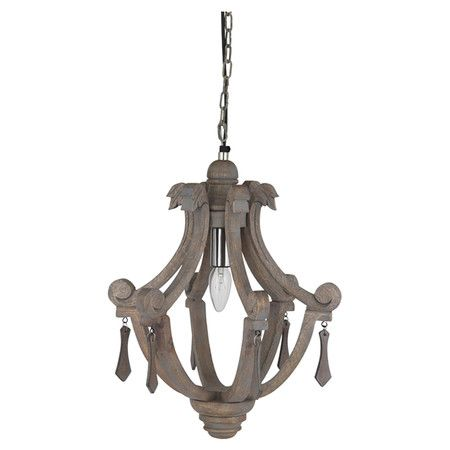 Channelling both traditional and rustic style influences, this wooden pendant light adds instant focus to your dinner table or kitchen island. ...