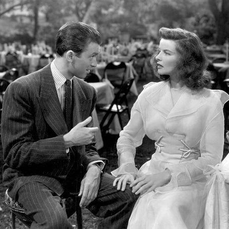 Katharine Hepburn and Jimmy Stewart The Philadelphia Story