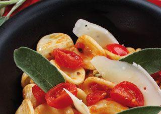 Oreillettes au parmesan et au beurre de sauge au Cooking Chef