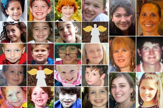 Remembering The Victims of The Sandy Hook Elementary School Shooting