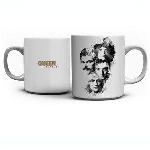 Queen Forever White Mug