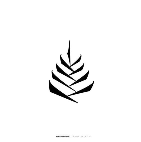 Pinecone. Natural. This graphic also looks similar to a rosetta ( I <3 coffee) http://th08.deviantart.net/fs33/PRE/i/2009/054/4/6/pine_cone_logo___white_by_Shimensoka_Mitsukai.jpg