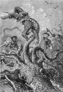 El axón gigante del calamar