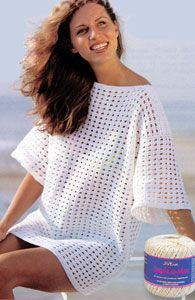 Nice cover up; free pattern