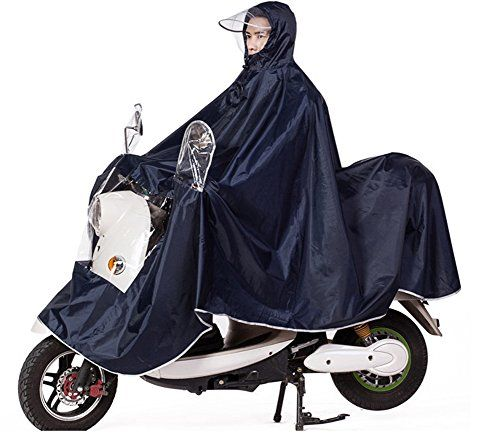 Waterproof Wheelchair Mac Cape Poncho with Hood Universal Wheelchair Poncho