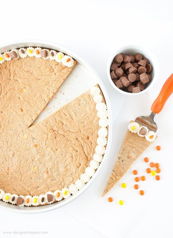 Reeses Peanut Butter Cookie Cake